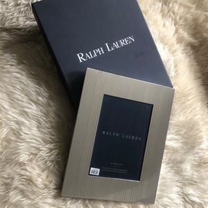 Ralph Lauren silver plated picture frame